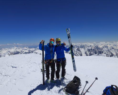 Talgar peak first descent