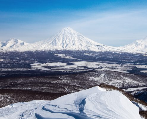 Powder.kz team Kamchatka trip