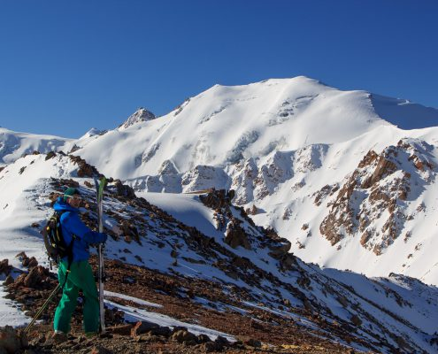 Backcountry in Tuyuk-su valley