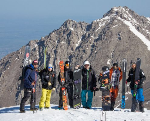 Ride the planet team with powder.kz
