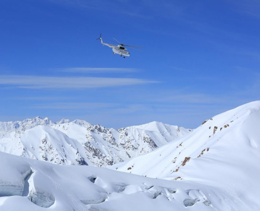 Heliski in Spring-summer